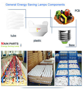 9W T2 Half Spiral Energy Saver B22 Lamp with CE (BNFT2-HS-D) pictures & photos