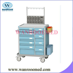 Anesthesia Cart with 10 Drawers pictures & photos