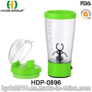 450ml Black Electric Protein Shaker Bottle, Wholesale Cheap Plastic Vortex Shaker Bottle (HDP-0896) pictures & photos