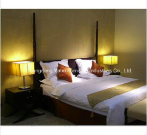 Chinese Style Hotel Bedroom Set Wooden Furniture King Room pictures & photos
