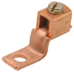 Copper Single-Conductor, One-Hole Mount (Offset-Tang) , Conductor Range 2 Str-4/0 Str pictures & photos