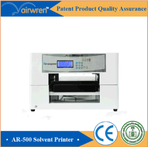 Automatic Flatbed Eco Solvent Printer Leather Printer in Good Condition pictures & photos