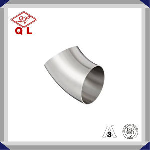 304/316L Sanitary Stainless Steel Bend 90 Degree Welded Elbow pictures & photos