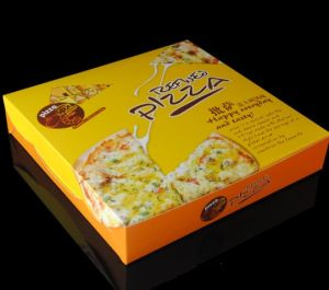 Customized Food Packaging Box Pizza Box Wholesale pictures & photos