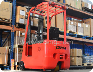 Ltma 3-Wheel Electric Forklift 1t 1.5t Semi-Electric Forklift pictures & photos