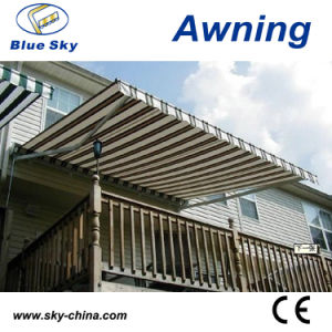 Mobile Aluminum Frame Polyester Fabric Cheap Awnings B3200 pictures & photos