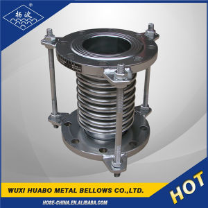 Stainless Steel Expansion Joint/Compensator with Flange End pictures & photos