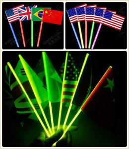Concert Glow Flag Glow in The Dark pictures & photos