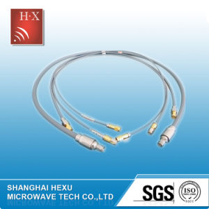 Low Loss RF Feeder Cable Assemblies From Hexu Microwave pictures & photos