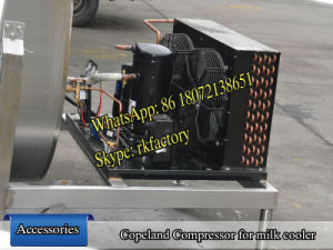 2000L Milk Cooling Tank (U shape) pictures & photos
