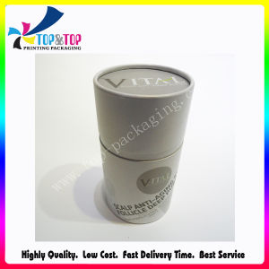 High Quality Best Price Silver Hot Stamping Paper Cylinder Box pictures & photos