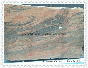 China Yellow Stone Granite Slab for Countertop or Engineering Tiles pictures & photos