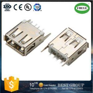 Auto Spare Part Terminal Connector Mini USB Connector Panel Mount Waterproof Connector Terminal Micro USB Connector USB Connector (FBELE) pictures & photos