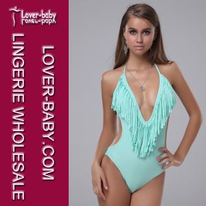 One Piece Backless Swimsuit Monokini Bikini (L3202-2) pictures & photos