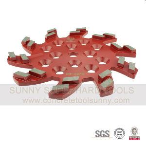 Blastrac / Diamatic Turbo Diamond Metal Bond Floor Grinding Tool Plate Wheel pictures & photos