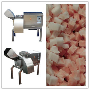 Customized Frozen Meat Dicer Drd450 CE Certification 380V 1500kg/H pictures & photos