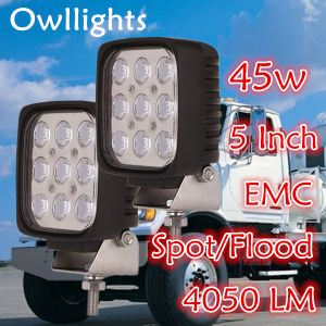 New 12V Wholesale Car Accessories EMC Function 45W Commercial Electric LED Work Light
