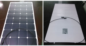 100W/120W/150W High Efficiency ETFE Semi-Flexible Sunpower Solar Module /Panel pictures & photos