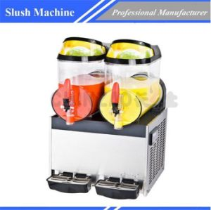 Frozen Drink Slush Machine Beverage Machine Xrj-10L*2 pictures & photos
