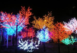 Colorful LED Tree Net Light Street Decoration pictures & photos