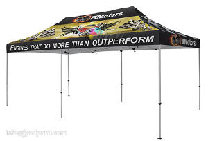 Free shipping Custom Printing LOGO 3X6m (10X20FT) Outdoor Advertising Tent pictures & photos