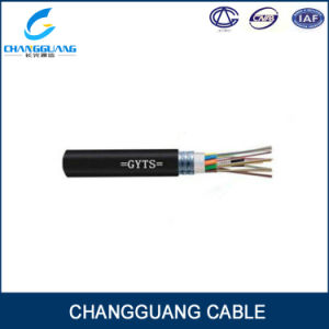 GYTS Multi Core Single-Mode Fiber Optic Cable Stranded Loose Tube Fiber Cable Steel Wire Strength Waterproof Outdoor Optical Fiber Cable Online