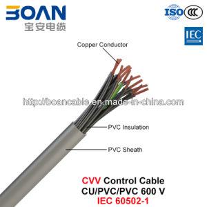 Cvv, Control Cable, 600 V, Cu/PVC/PVC (IEC 60502-1) pictures & photos