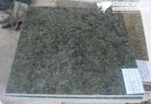 Polished China Green Granite Tile for Flooring/Wall pictures & photos