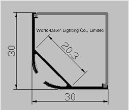 LED Channel Light Aluminum Profile (WD-A266) pictures & photos