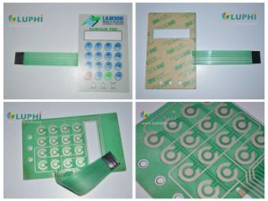 Silver Conductive Matrix Electronic Membrane Keypad with Digital Printing pictures & photos