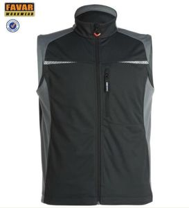 Autumn Softlight Waterproof Body Warmer Outdoor Safety Vest pictures & photos