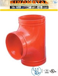 ASTM A536 Casting Ductile Iron Pipe Fire Grooved Flexible/Rigid Coupling pictures & photos