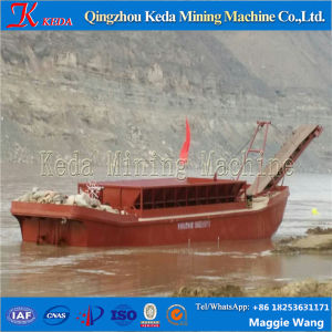 2015 Hot Sale Self-Unloading River Sand Barge Boat/Sand Carrier pictures & photos