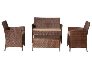4PCS Brown Garden Classics Patio Furniture pictures & photos