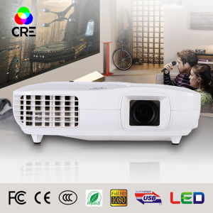 High Contrast Full HD LED 3D Home Projector pictures & photos