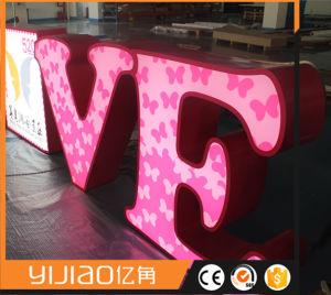 Luminous LED Illuminated Letter Word pictures & photos