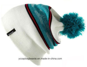 Good Quality Custom Acrylic Jacquard Beanie pictures & photos
