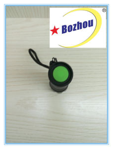 Zoom Torch Rechargeable 3-Mode Bright Flash Light pictures & photos