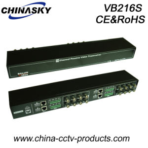 16 Channel Passive CCTV UTP Cat5 Video Balun (VB216S) pictures & photos