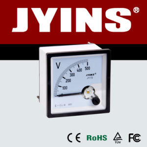 48*48mm Analog Panel Voltmeter (JY-72) pictures & photos