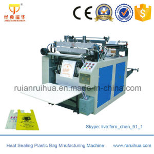 Double Channel Automatic T-Shirt Bag Machine pictures & photos