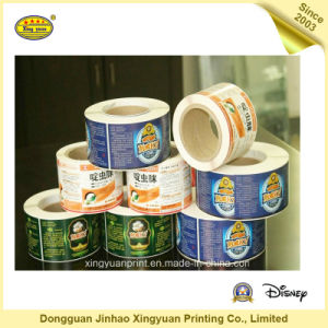 Printing Label Waterproof Roll Self Adhesive Sticker (JHXY-AS00017)
