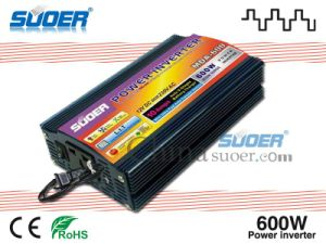 Suoer 600W 24V to 220V Modified Sine Wave Power Inverter with CE RoHS (MDA-600B) pictures & photos