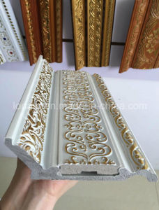 High Quality Iraq Popular Design PS Moving Decoration Cornice pictures & photos