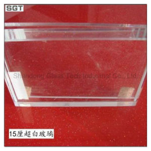 3mm-19mm Low Iron/Ultra Clear Patterened Tempered Glass for Solar Panel pictures & photos