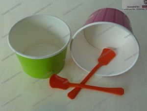 Baby Plastic Shovel Spoon for Yogurt pictures & photos