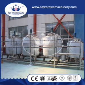 2000L Electric Heating Round Top Mixing Tank in SUS316L pictures & photos