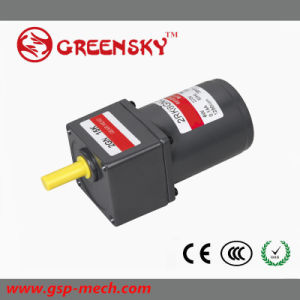 China 6w ac reversible motor low rpm electric gear motor for Gear motor 500 rpm