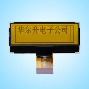 128X32 Yellow/Green Graphic LCD Module (Size: 65.0(W) *27.0 (H) *6.5 (T) Mm)