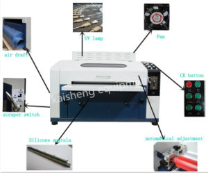 18inches UV Coating Machine for UV Varnish pictures & photos